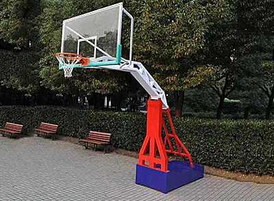 平箱移动篮球架常见的分类及主要技术参数
